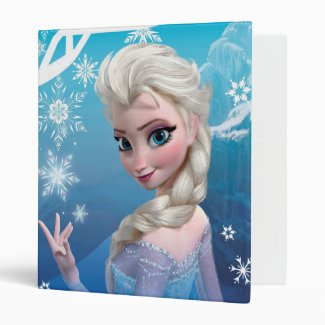 Elsa the Snow Queen 3 Ring Binders