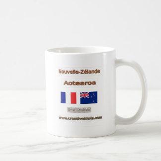France, Nouvelle-Zélande Coffee Mugs