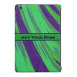 Green Blue Color Swish iPad Mini Covers