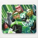 Green Lantern Corps Mousepad
