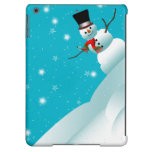 Happy Snowman Christmas Winter ipad Air Case