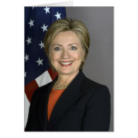 Hillary Clinton Greeting Cards