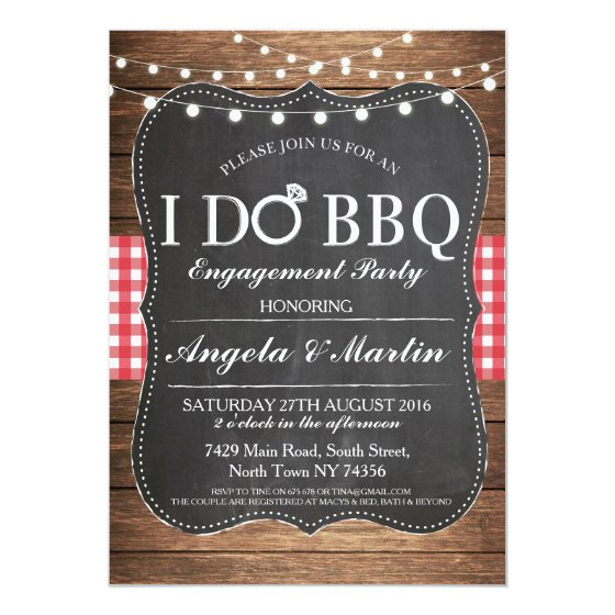 Engagement Party Invitations – Couples Shower Wedding Invitations
