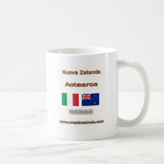 Italia, Nuova Zelanda Coffee Mugs