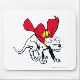 Superman Krypto Dog Mousepad