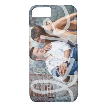 """Love"" Add your photo iPhone 7 Case"