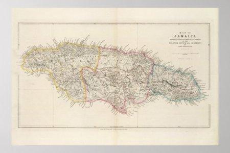 map of jamaica poster r2a9b9b09b202449da09d43124701367e w2u 8byvr 700