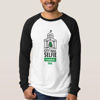 Men's Raglan #CityHallSelfie T-Shirt