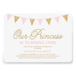 Our Princess   Birthday Invitation