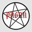 Pagan Pentagram Stickers