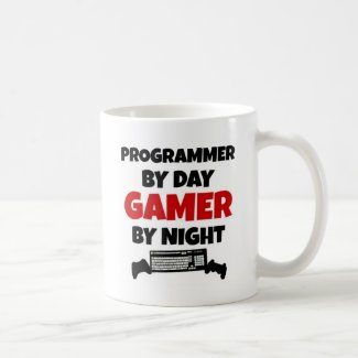 Programmer Gamer Classic White Coffee Mug