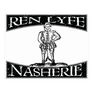 Ren Lyfe: Thomas Nashe in Chains Post Cards