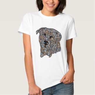 Rottweiler Colored T-Shirt