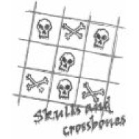 Tic Tac Toe Geeks T-Shirts & Gifts - Skulls & Crossbones