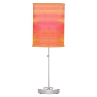 Sol-Yellow and orange ombre watercolor pattern