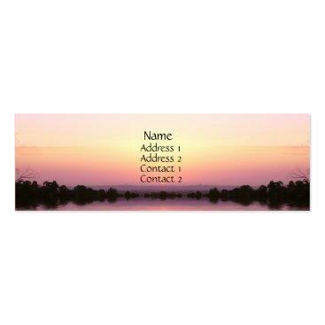 Sunset Pinks Profile Card