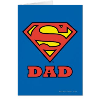 Super Dad Greeting Cards