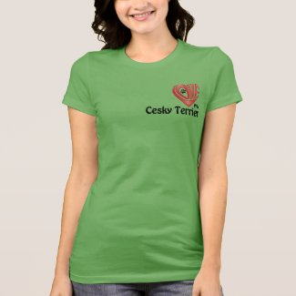 T-Shirt Women's- Love My Cesky Terrier