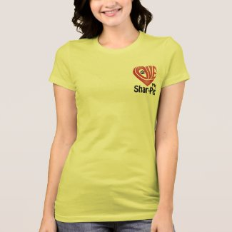 T-Shirt Women's- Love My Shar-Pei
