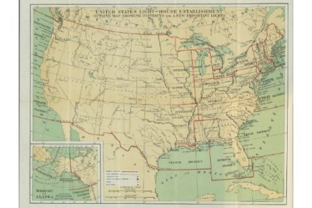 united states light house outline map 1896 stretched