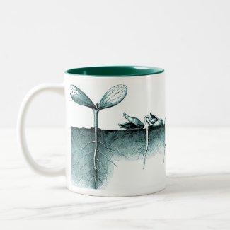Urban Gardener - Sprouting Seeds Mug mug