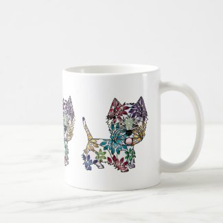 West Highland White Terrier - Colored Coffee Mug