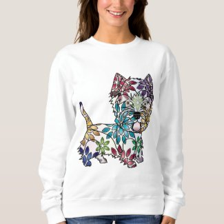 West Highland White Terrier - Colored Sweatshirt