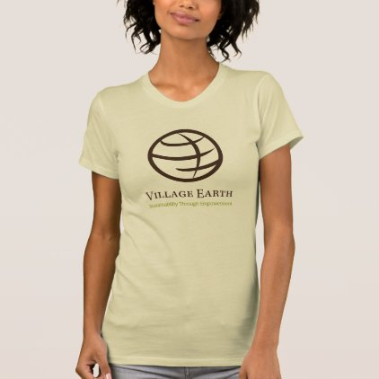 Women's Village Earth Bold Logo T-Shirt