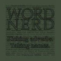 Word Game Geeks T-Shirts & Gifts - Kicking Adverbs