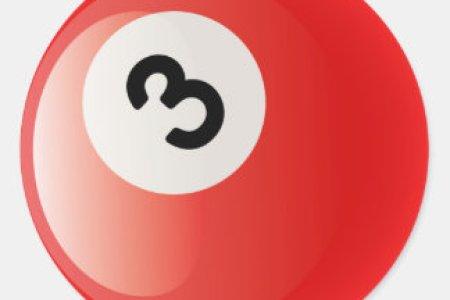 boule de billards du numero 3 sticker rond r26bb4bba1a65469a8a4c55ae8dcda0f9 v9waf 8byvr 324
