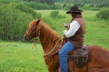 Saskatchewan's Tweeting Cowboy