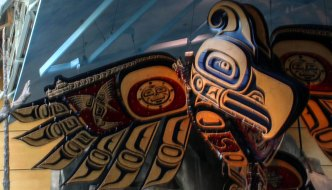 art at YVR Hetux by Connie Watts, detail