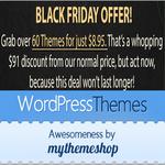 MyThemeShop Black Friday Deal 2015: Get Any Theme for $19!