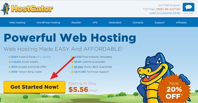Getting Started With HostGator