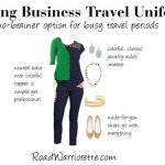 spring business travel uniform