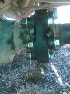 Fixed Tailshaft Coupling