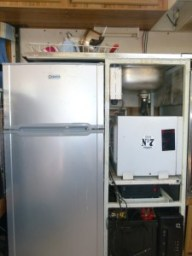 90ltr Fridge, Battery, Inverter, Sink, Microwave.