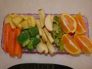 Our Kids Inhale Fresh Fruit and Veg.