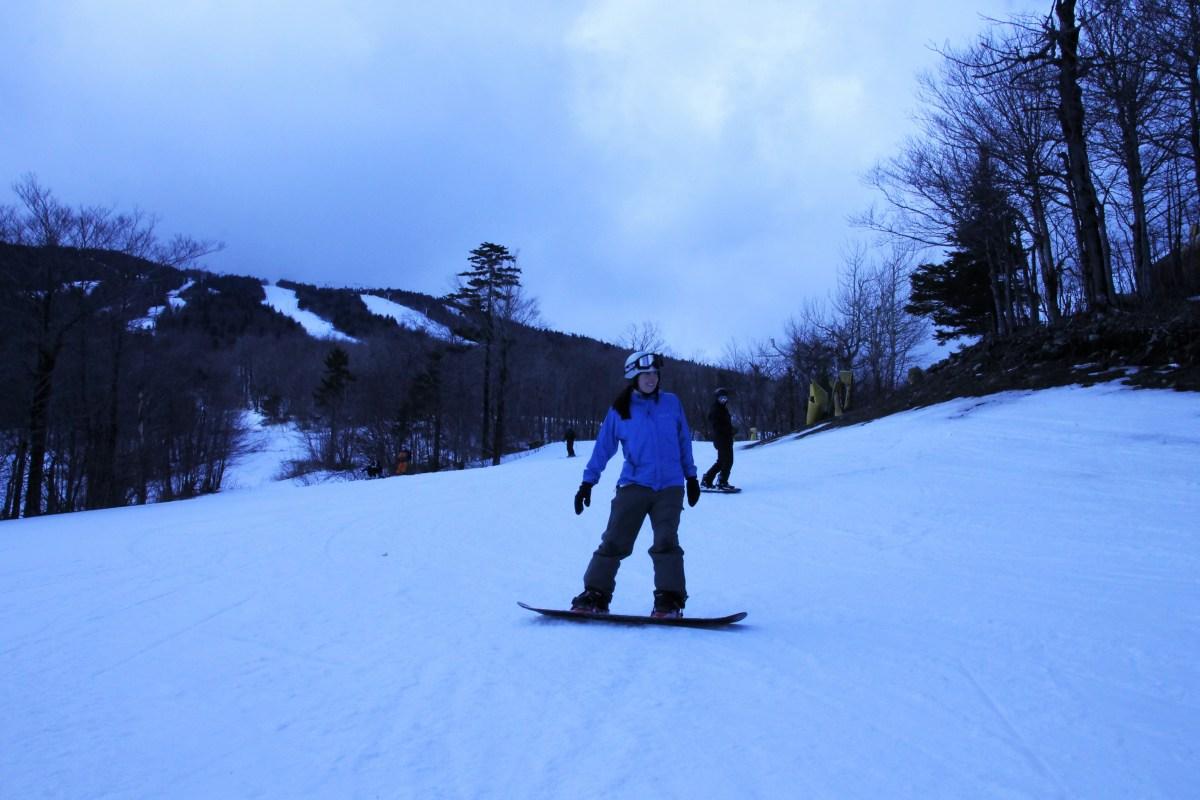 Snowboard Adventures at Stratton Mountain
