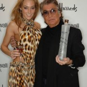The launch of Roberto Cavalli vodka at Harrods, London on 4 Dece