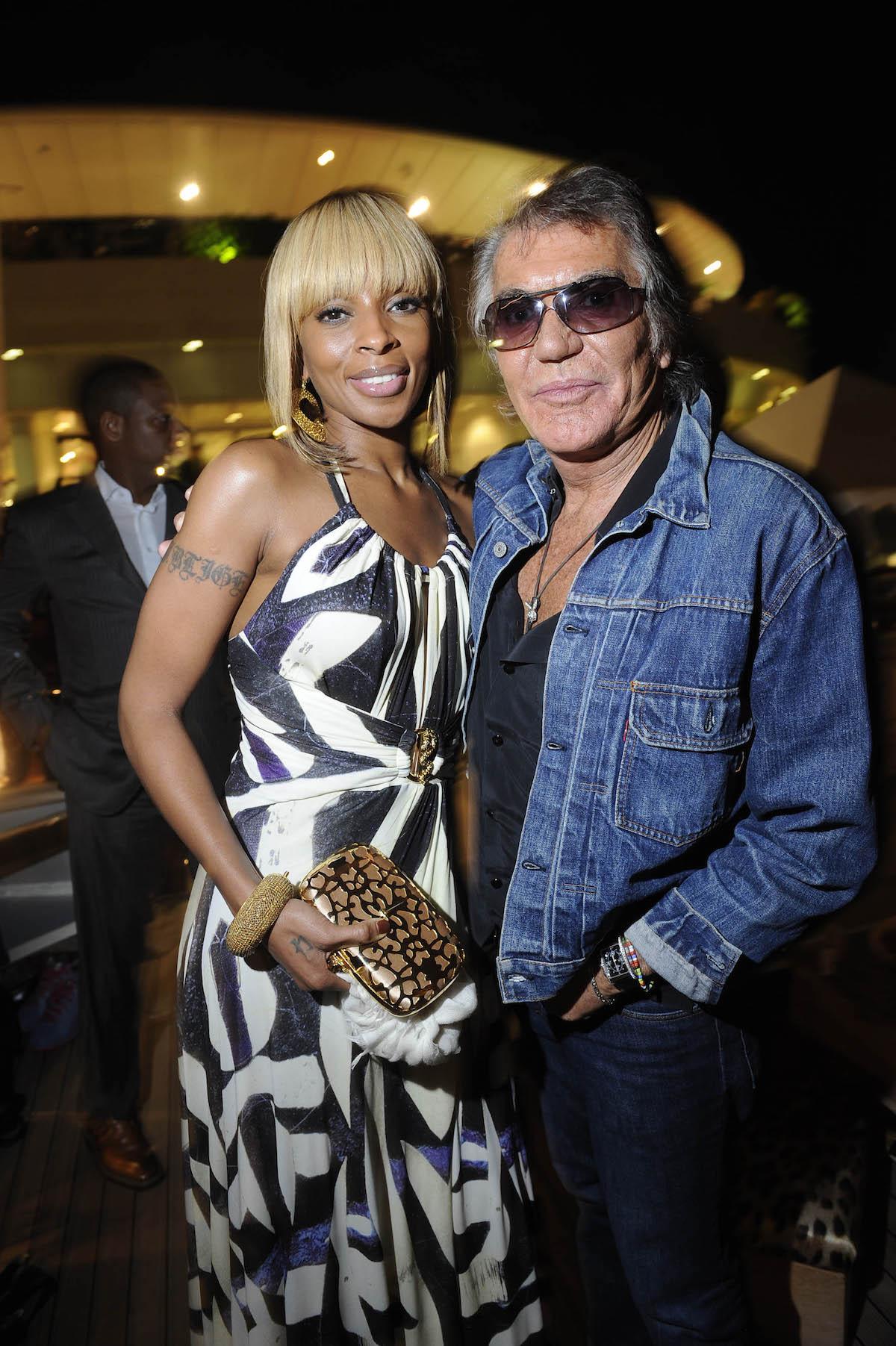 Mary J Blige e Roberto Cavalli