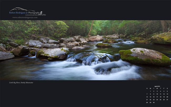 Little Big River, Smoky Mountains Wallpaper