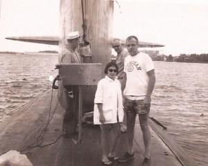 Bob & Betty on Submarine