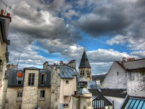 Paris Rooftop view HDR