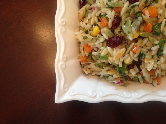 J. Alexander's Wild Rice and Orzo