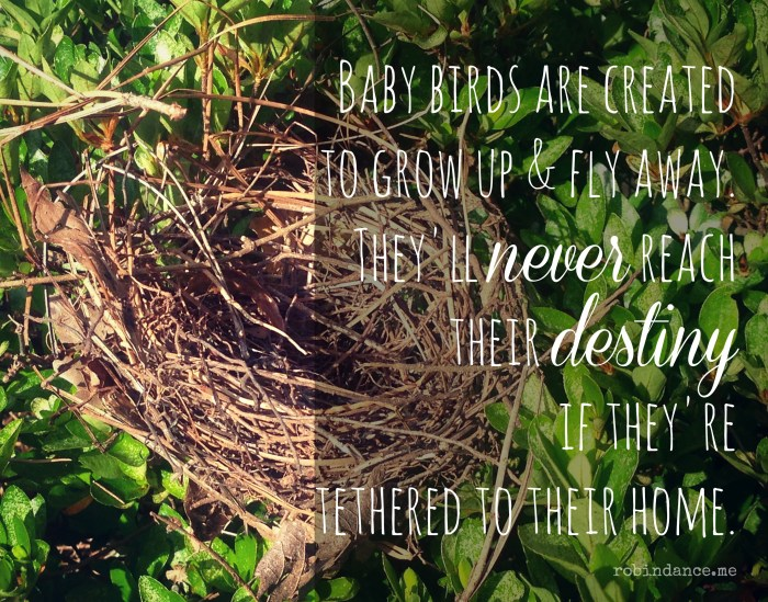 Empty Nest quote