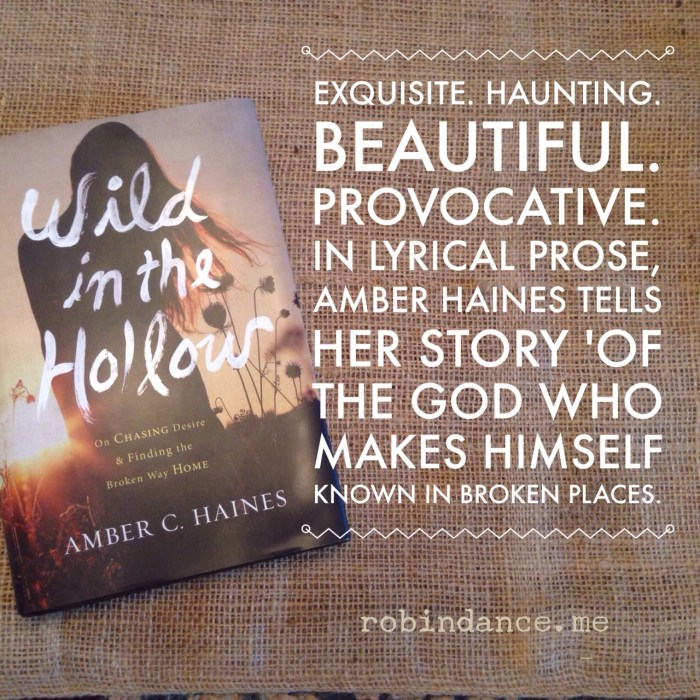 Wild in the Hollow Quote and Review