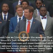 Dabo Swinney's White House Speech Will Make You A Clemson Fan (Full Transcript)