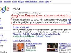 Google Bizden Özür Dilesin |Roboyt.Com