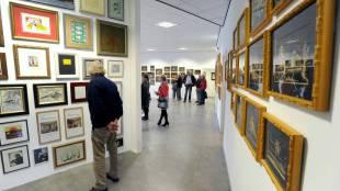 Rob Scholtes collectie in het oude postkantoor Foto George Stoekenbroek